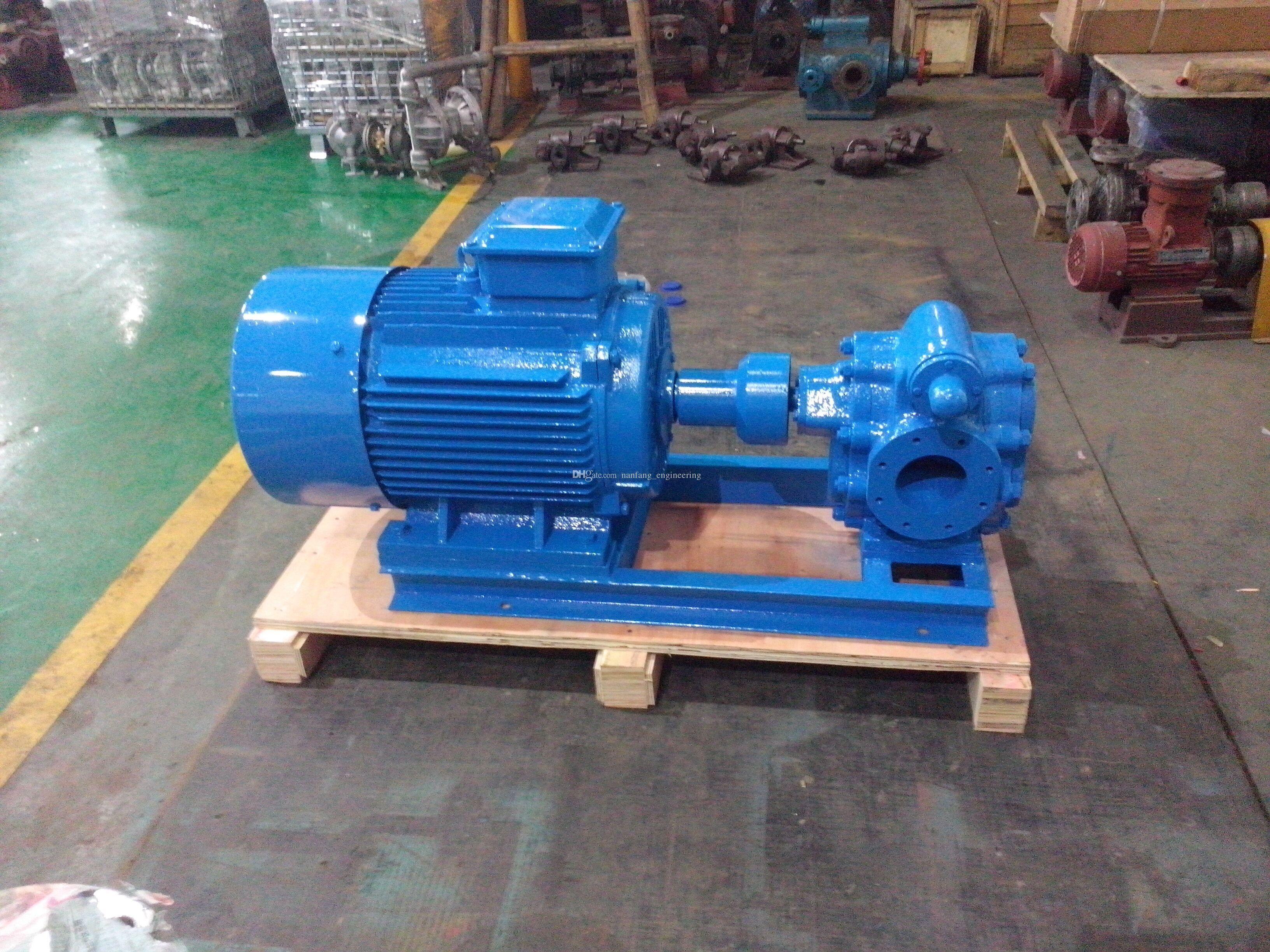 Kcb633 Double Gear Pump Electric Fuel Oil Transfer Pump Gear Pump Fuel Oil Pumps