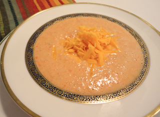 Tomato Cheddar soup recipe Mystery Lovers' Kitchen: Daryl Wood Gerber