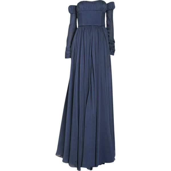edited by mlleemilee ❤ liked on Polyvore featuring dresses, gowns, long dresses, medieval, blue gown, long blue dress, blue evening gown and blue ball gown