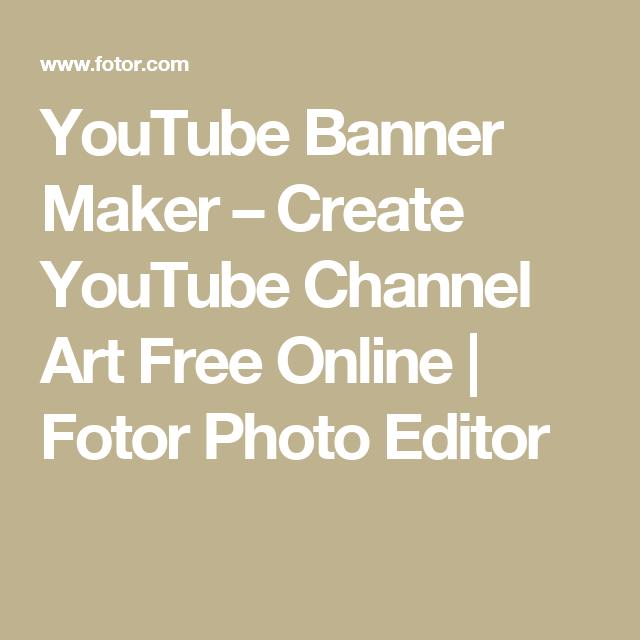 Youtube Banner Maker Create Youtube Channel Art Free Online