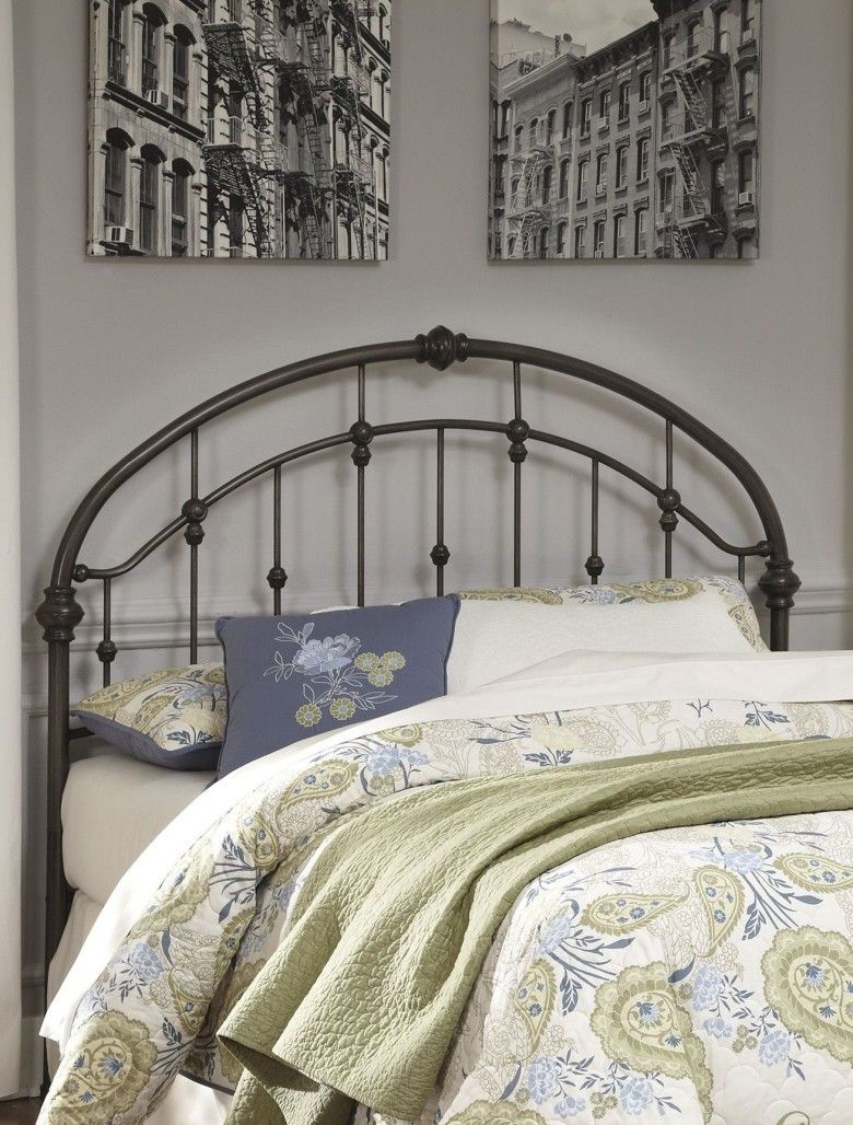 Queen Bronze Metal Headboard Furniture Bed Furniture Metal