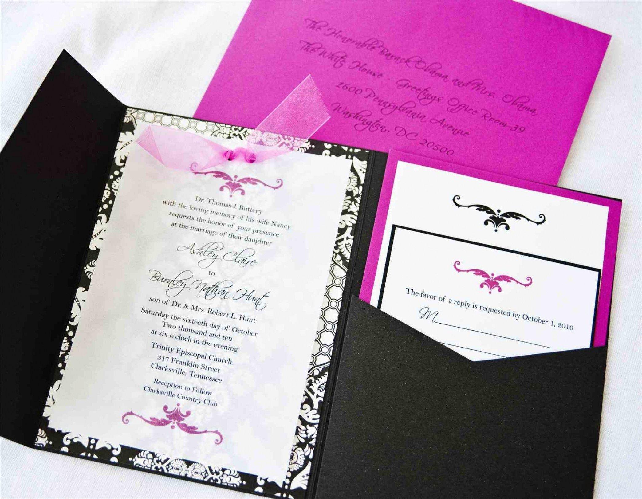 30 DIY Handmade Wedding Invitation Designs   Invitation design ...