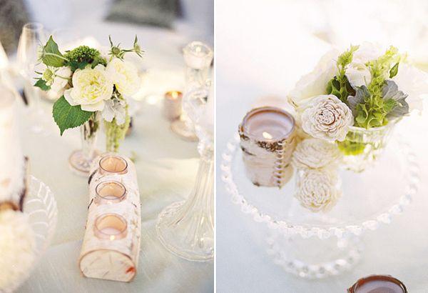 Hochzeitsdeko aus holz nat rlich und vielseitig for Holz dekoration hochzeit