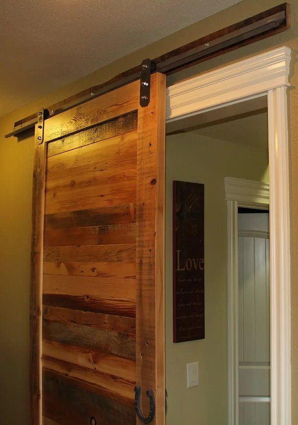 Add A Back Board For Your Door Hardware So It Will Slide Over