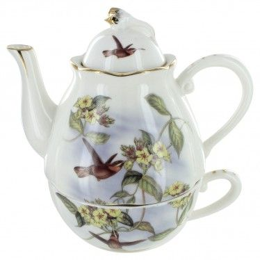 Hummingbird Porcelain - Tea for One
