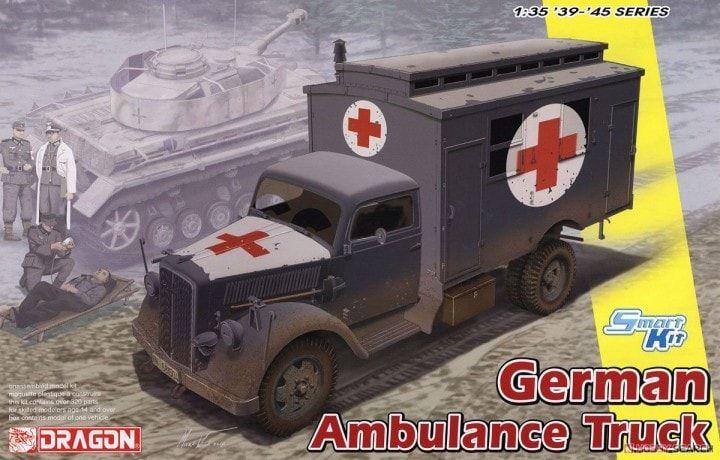 Dragon 1/35 6790 German Ambulance Truck | Танк, Солдаты ...