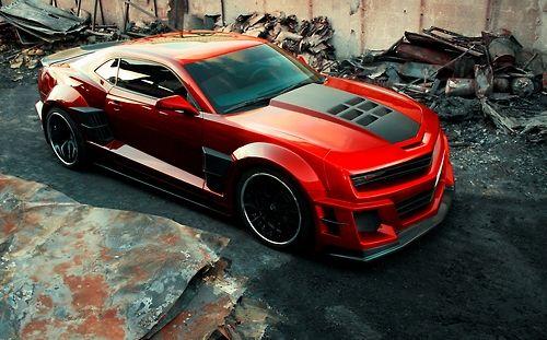 Chevrolet Camaro With A Wide Bodykit Camaro Chevy Camaro Zl1 Chevy Camaro
