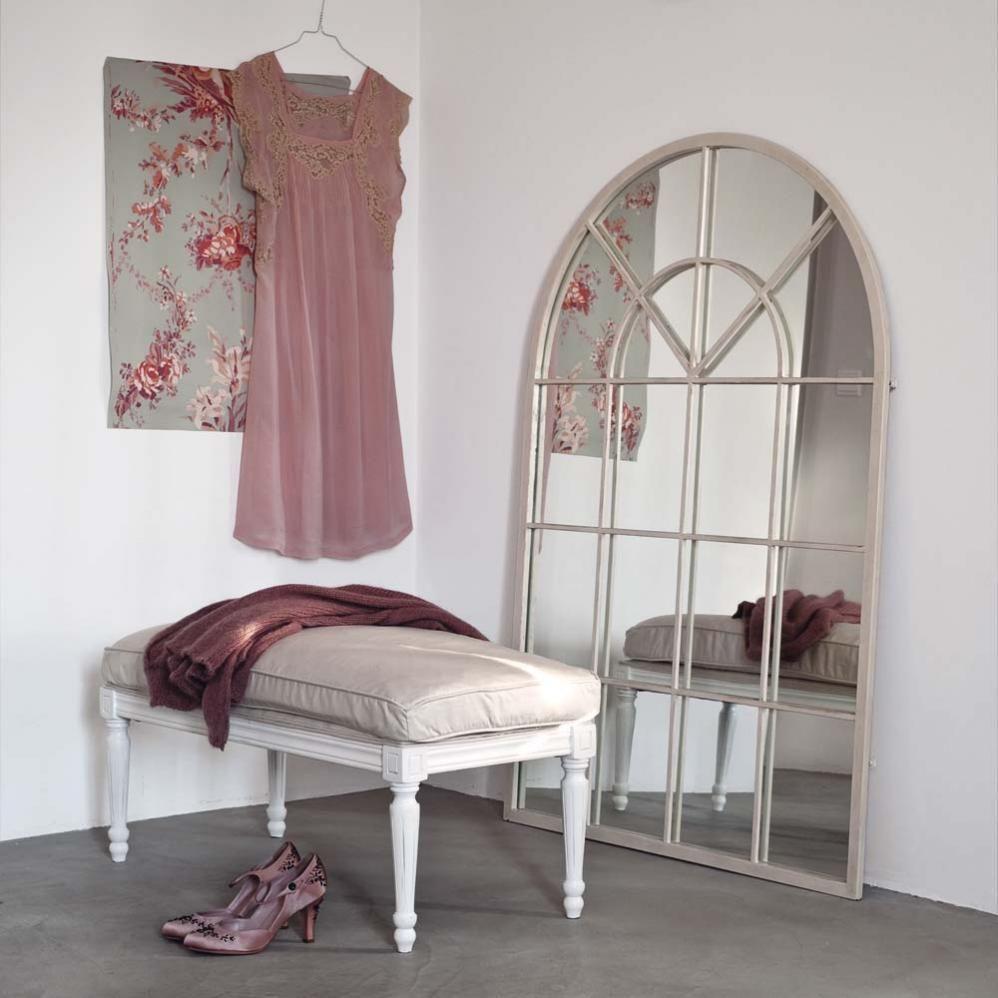 Specchi Per Bagno Maison Du Monde.Miroir Orangerie Ivoire Maison Du Monde Home Living Letti