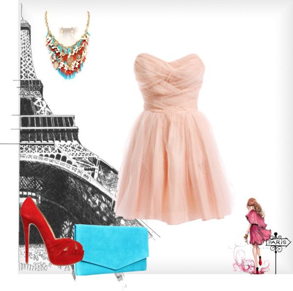 """Romantic Paris"" by QueenJJ on Polyvore"