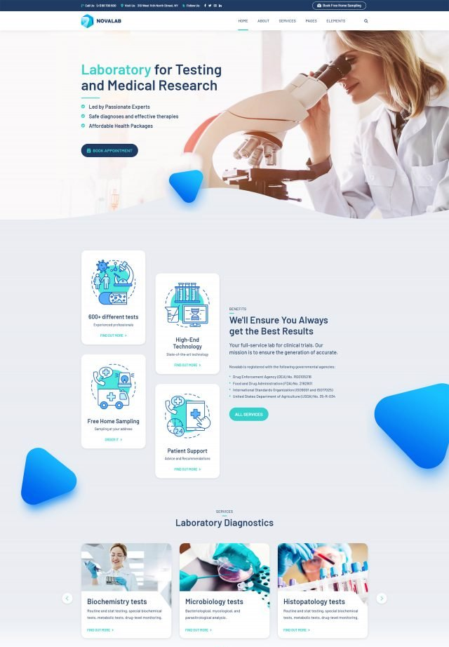 The Best Medical Business Wordpress Themes List In 2020 Medical Business Business Wordpress Themes Medical Websites