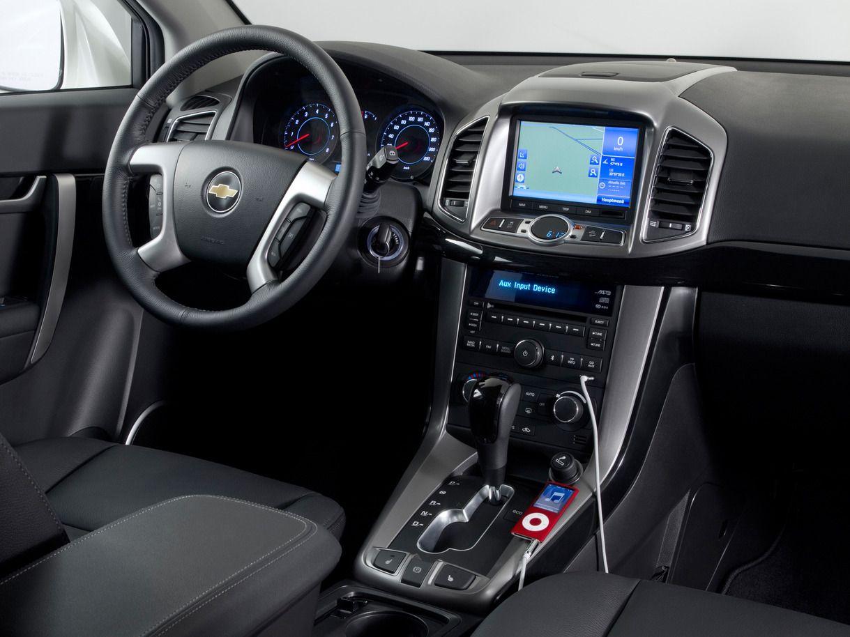 2013 Chevrolet Captiva 4x4 Car Interior Dashboard Lights