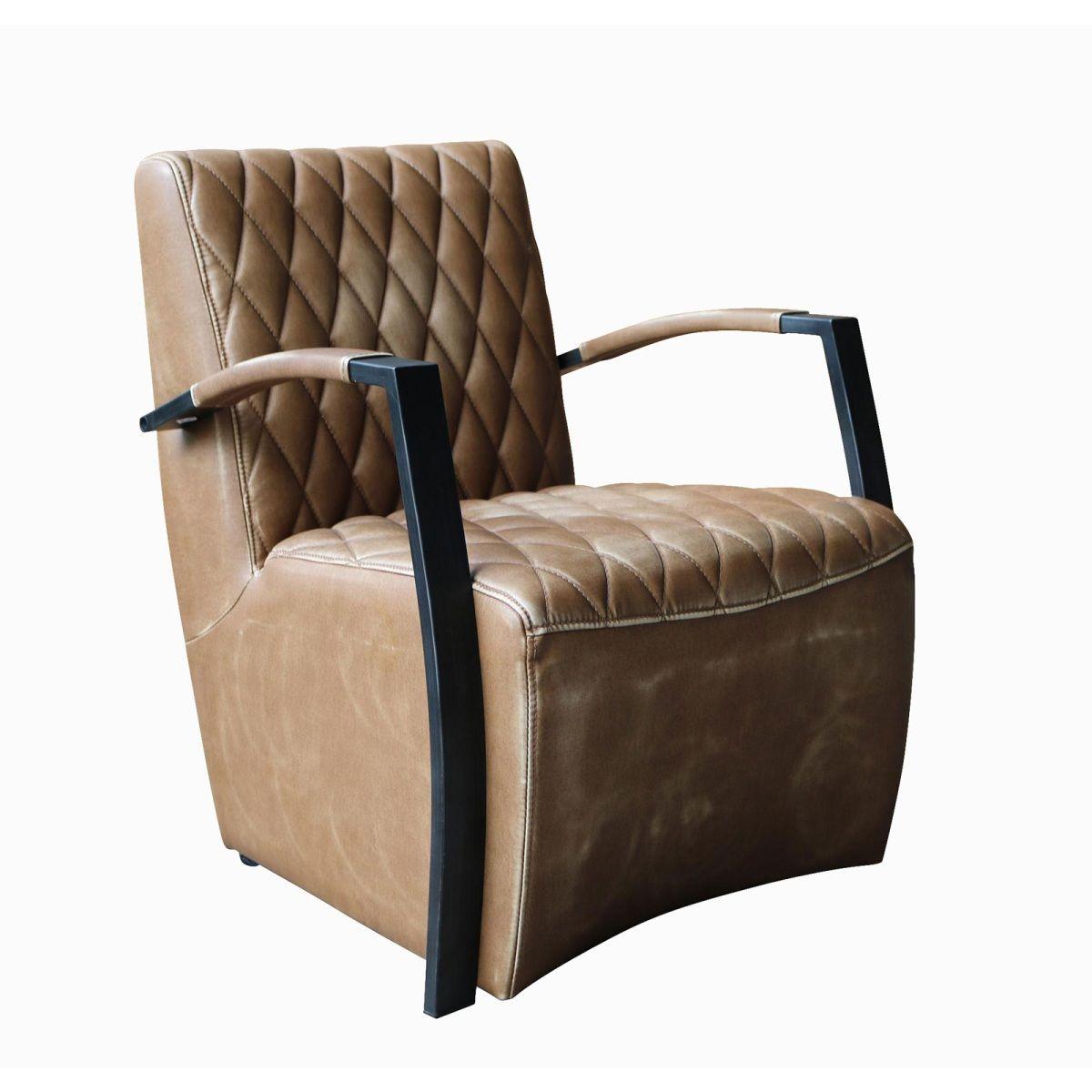 Wunderbar Phill Hill Sessel BRYAN Kunstleder Wischoptik Braun/Schwarz #wohnen # Wohnzimmer #Wohnzimmerideen