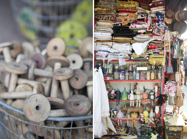 when we go to Paris someday, this flea market is on our must visit list // Oh Happy Day
