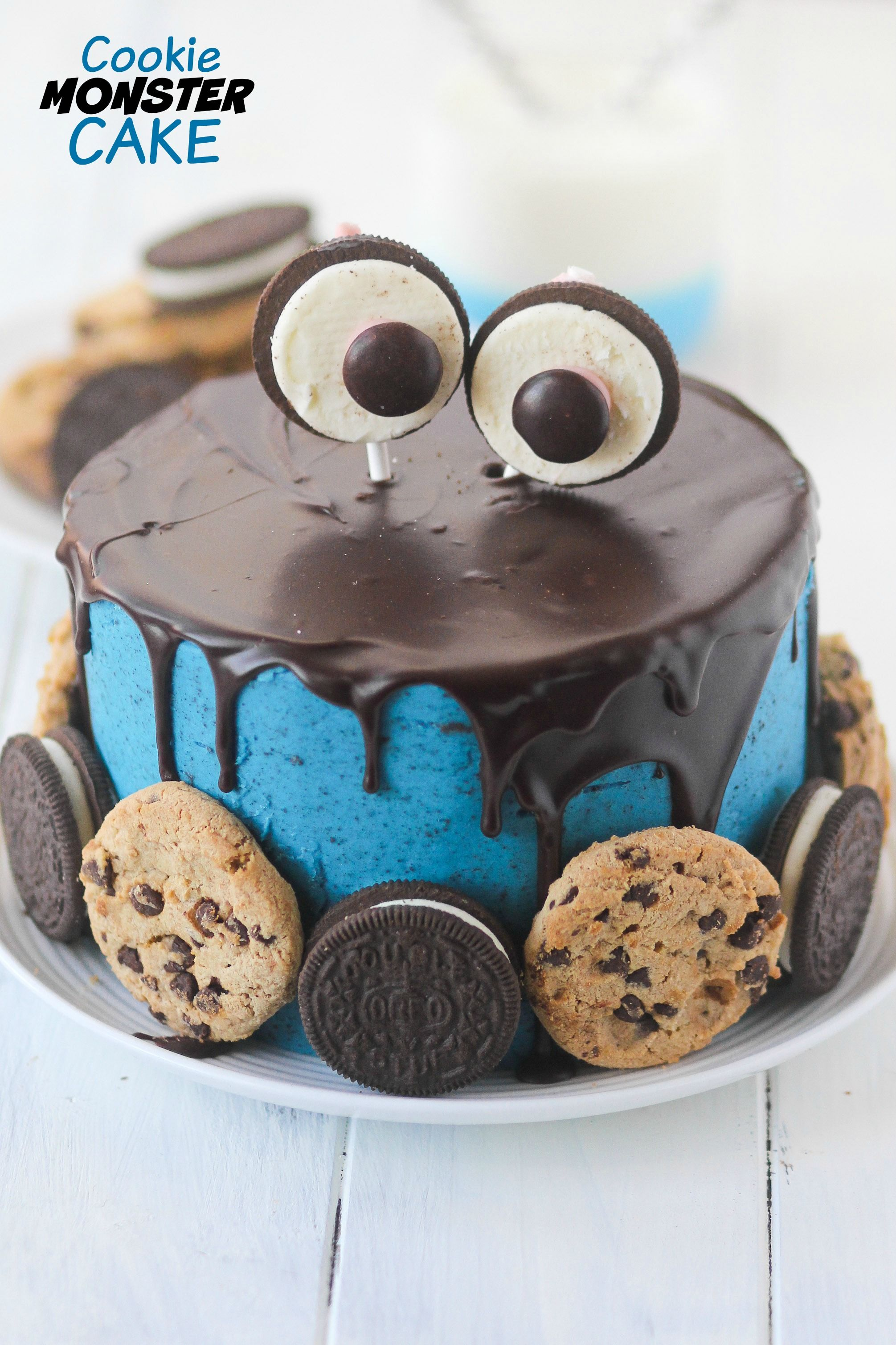 Cookie Monster Cake Is Adorable And Full Of Cookies