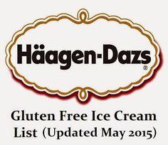 Haagen Dazs Gluten Free Ice Cream List (Updated August ...