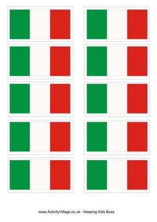 Italy Flag Printable and other craft ideas random Italy, Italy