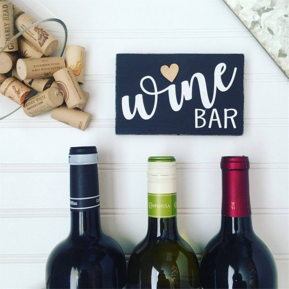 Gifts For Her Under 15 Wine Lover Bar Sign