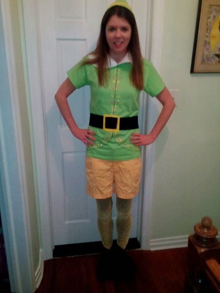 Diy Buddy The Elf Costume Do It Yourself Tutorial