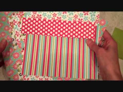Make it Monday #67:  Step-it-Up: Mixing Patterned Papers