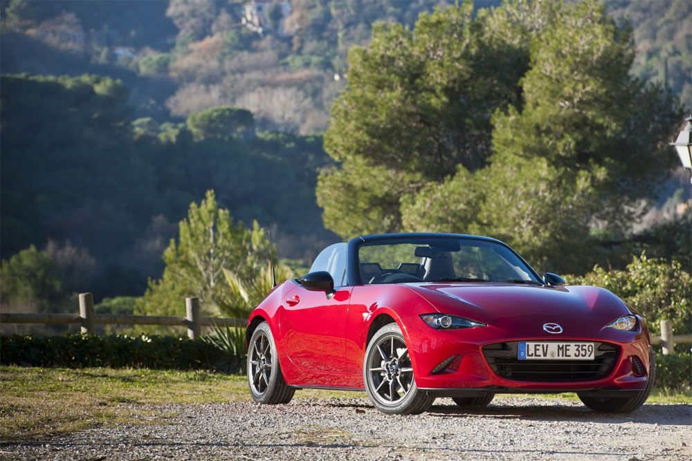 New Release Mazda MX-5 2016 Review Front View Model
