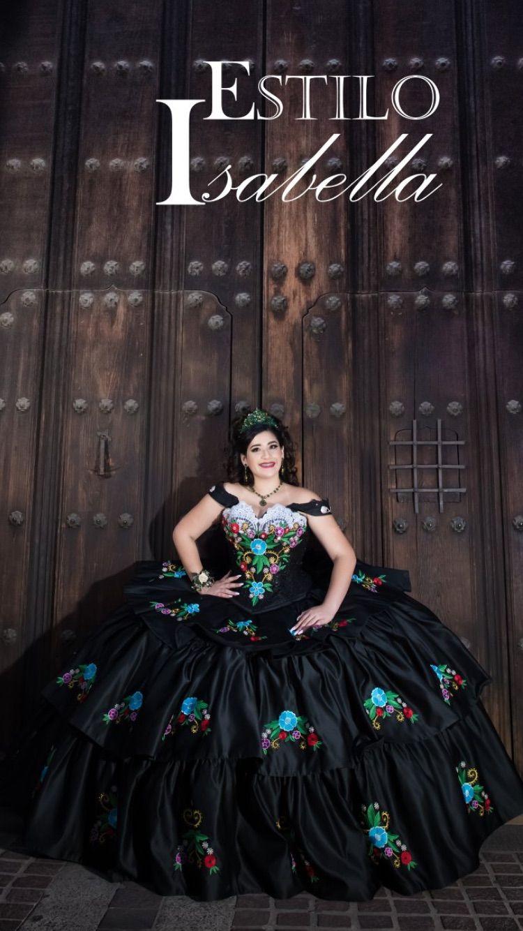 Mexican Charro Dress Black Charro Dress Hand Made Custom Dress Mexican Quinceanera Dresses Dresses Quinceanera Dresses [ 1334 x 750 Pixel ]