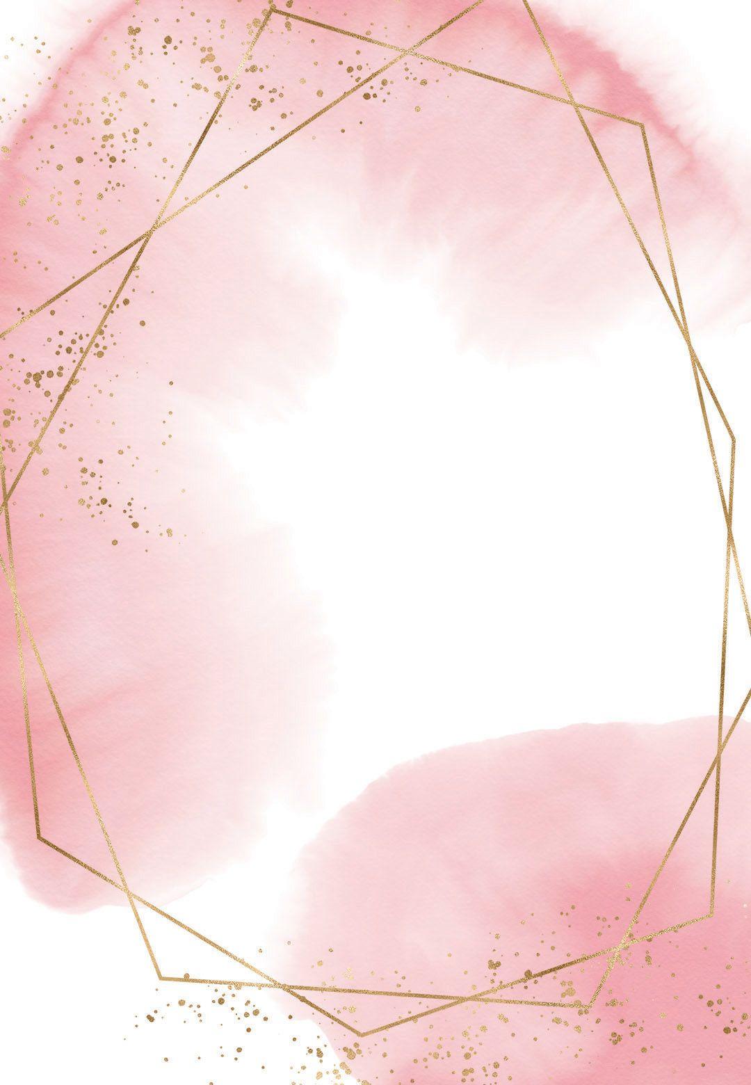 Gold polygon - Sweet 16 Invitation Template | Greetings Island