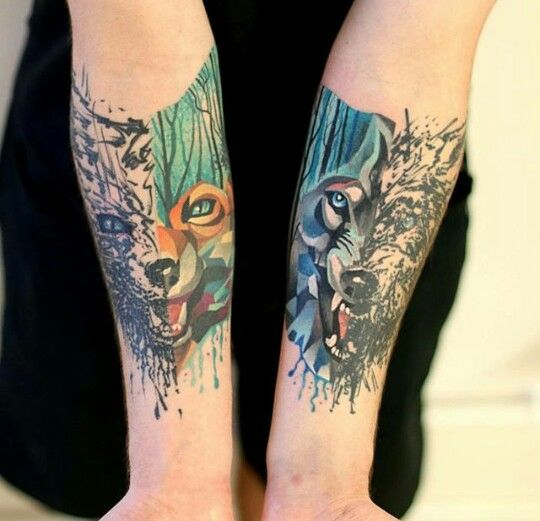 Pin By Nicole Rhoades On Idek Wolf Face Tattoo Fox Tattoo Design Cute Tattoos For Women