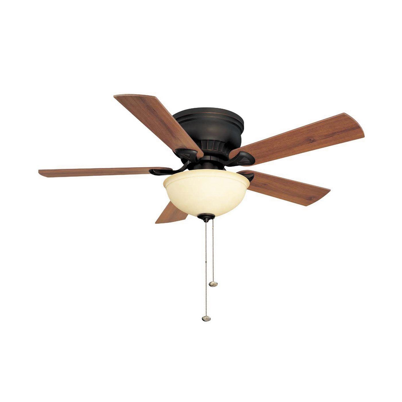 Litex CSU44 44 in 3 Light Crosley Flushmount Ceiling Fan
