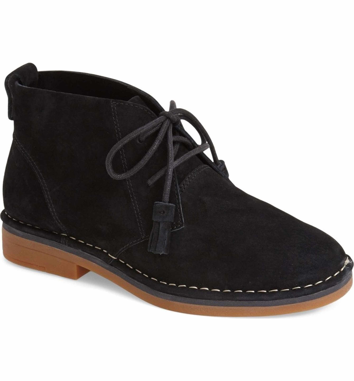 Hush Puppies Cyra Catelyn Chukka Boot Women Black Lace Boots Desert Boots Women Boots