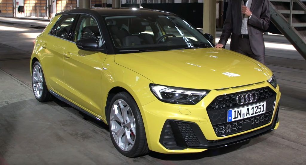 2019 Audi A1 Sportback All The Details Full Gallery And A Video