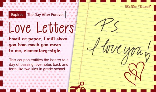 Love Letters Love Coupons Pinterest Coupons, Romance and Gift - fun voucher template