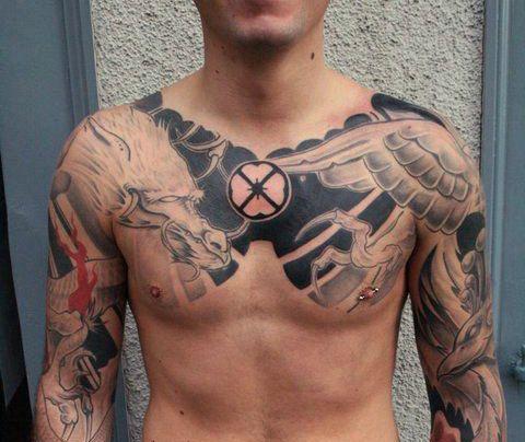 Collar Bone Tattoos For Men Collar Bone Tattoos For Men