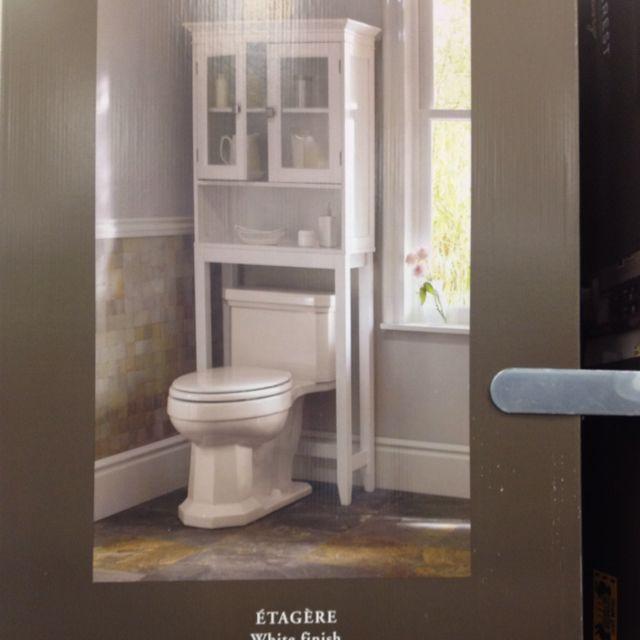 Over Toliet Bathroom Pinterest Target Bathroom Etageres And Bathroom