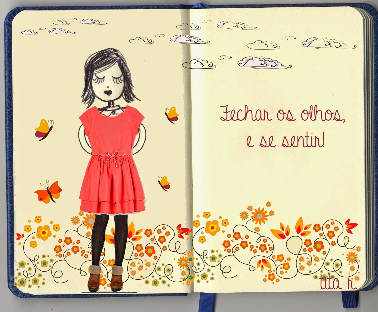 O Blog da Tita: Auto-estima. #collage ; #colagem