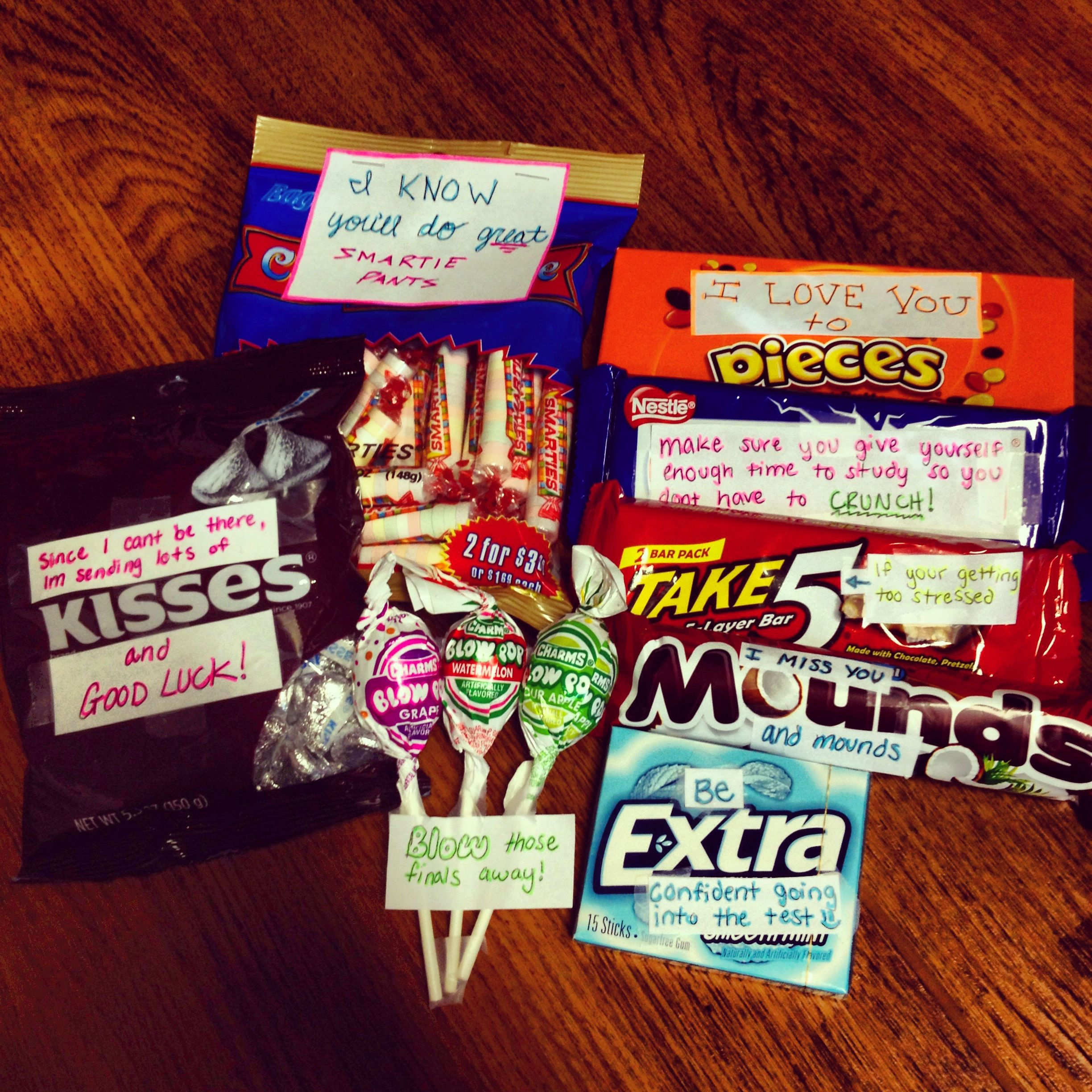 finals care package for the boyfriend | good ideas | pinterest