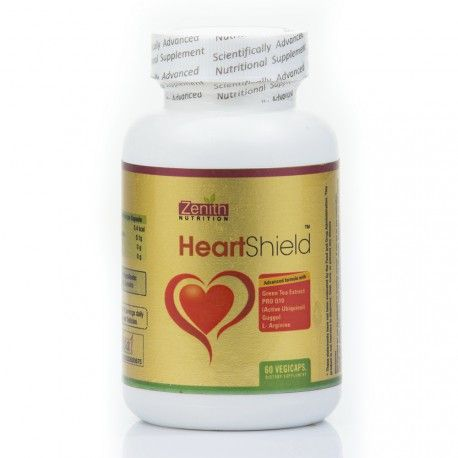 Zenith Nutrition Heart Shield 60 Veg Capsules