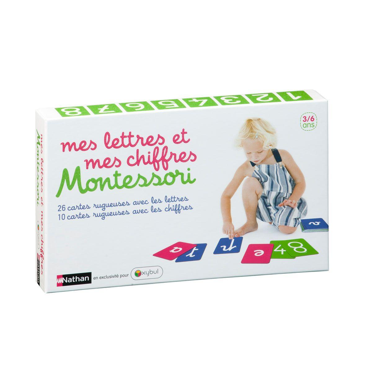 Coffret Montessori Mes Lettres Et Mes Chiffres Montessori Lettre A Apprentissage De La Lecture