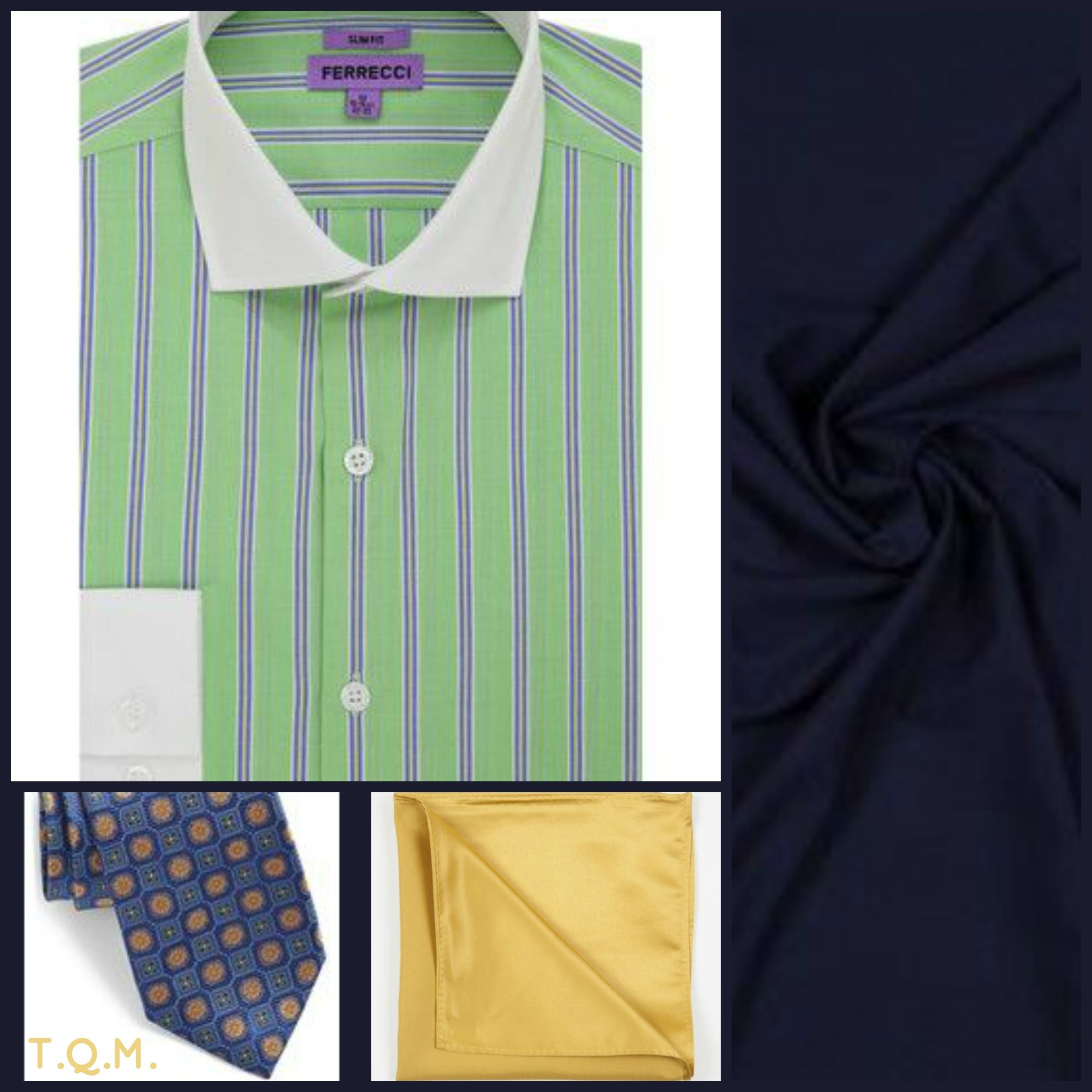 Green Dress Shirt And Tie Combinations