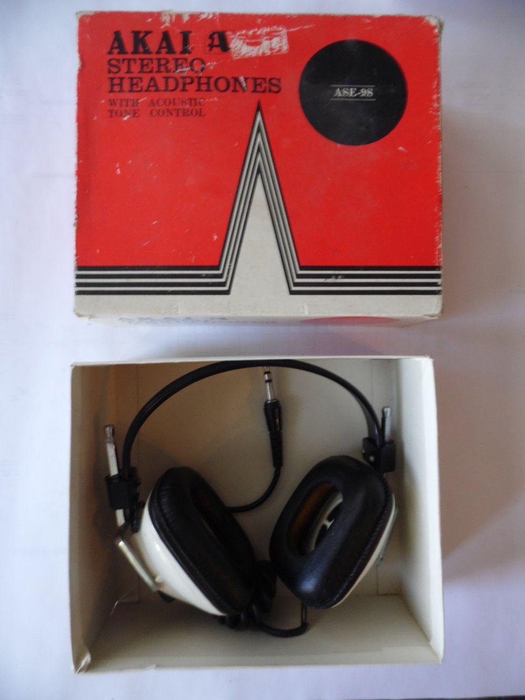 Vintage Audiovox stereo headphones | electronics | Stereo ... on