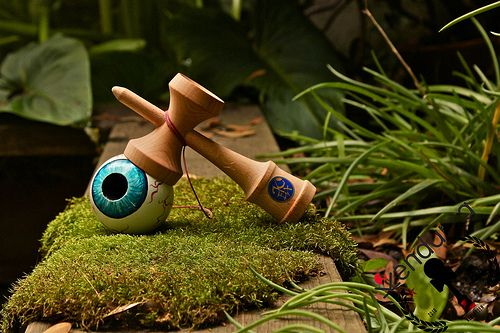 Costum Eye Kendama #kendama #costum #eye