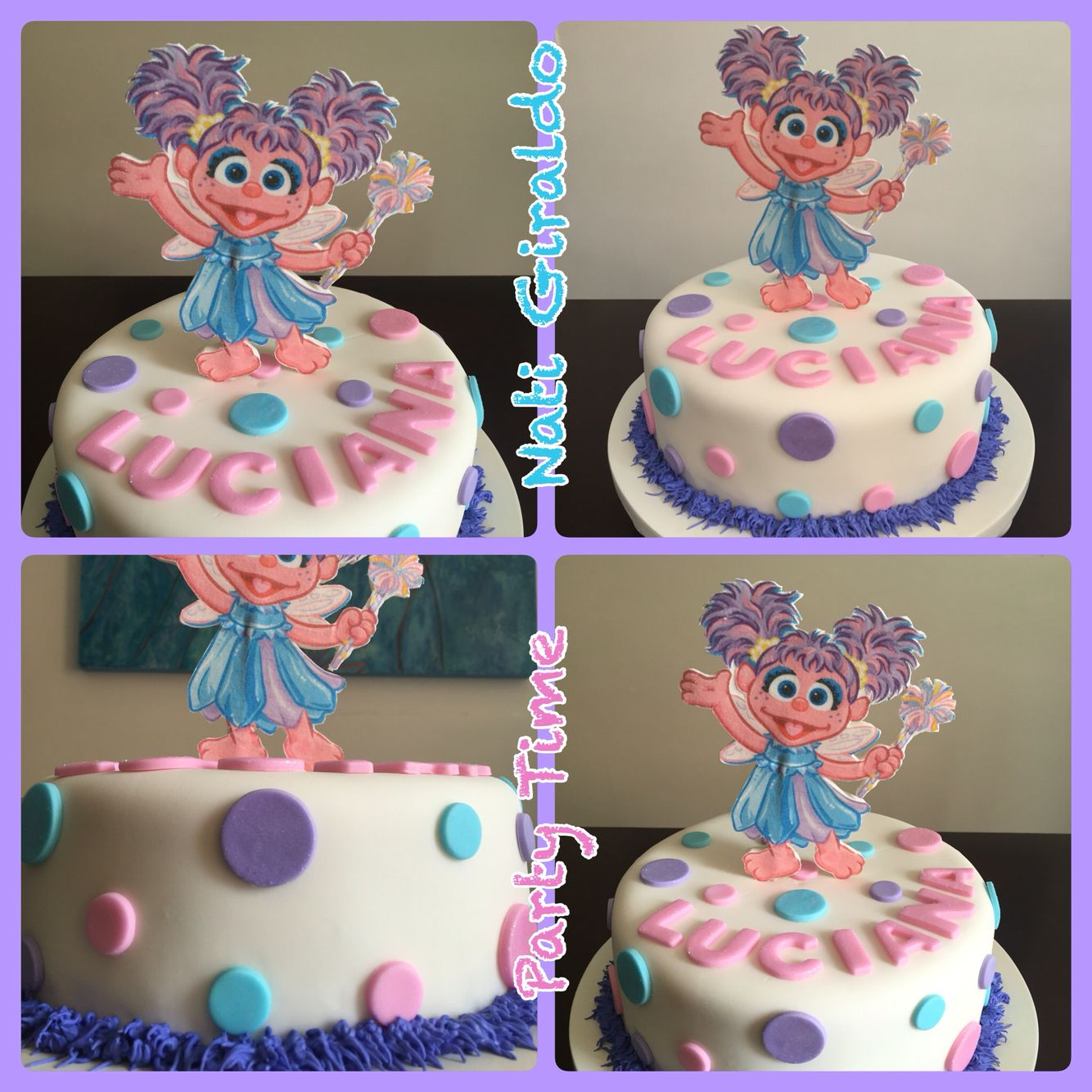Abby Cadabby Cake With Images First Birthday Cake Topper