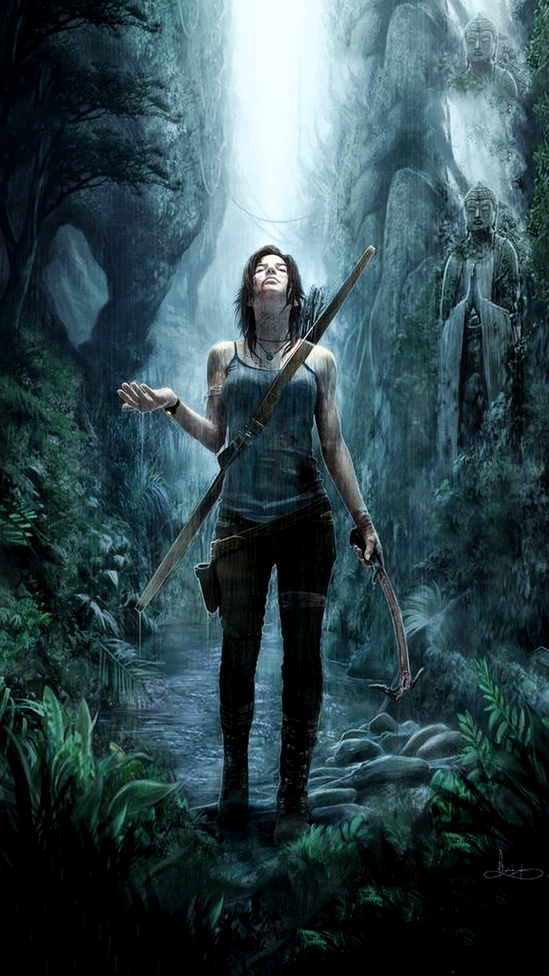 Lara Croft Wallpaper Custom Edit Latestgames Tomb