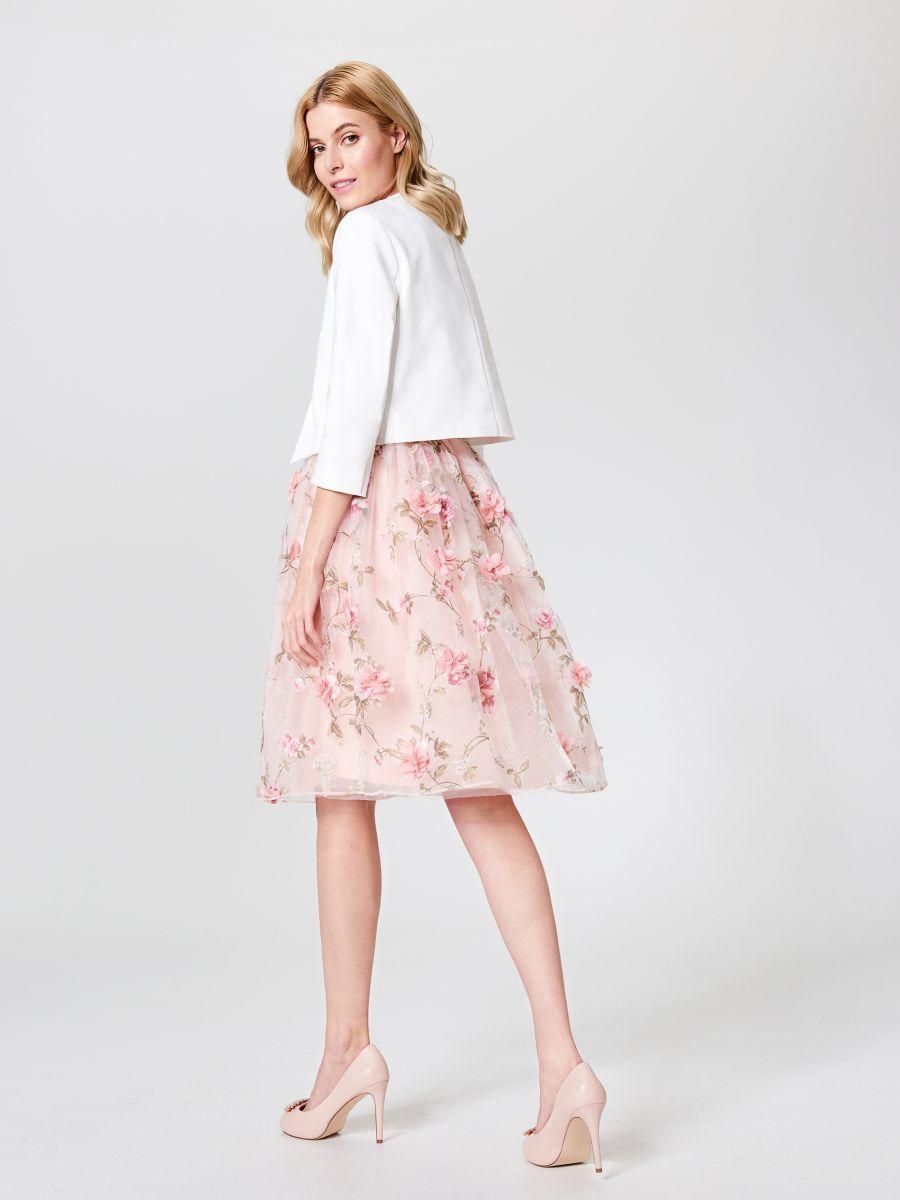 Tiulowa Spodnica W Kwiaty Little Princess Mohito Sz268 03x Skirts Tulle Skirt Womens Skirt