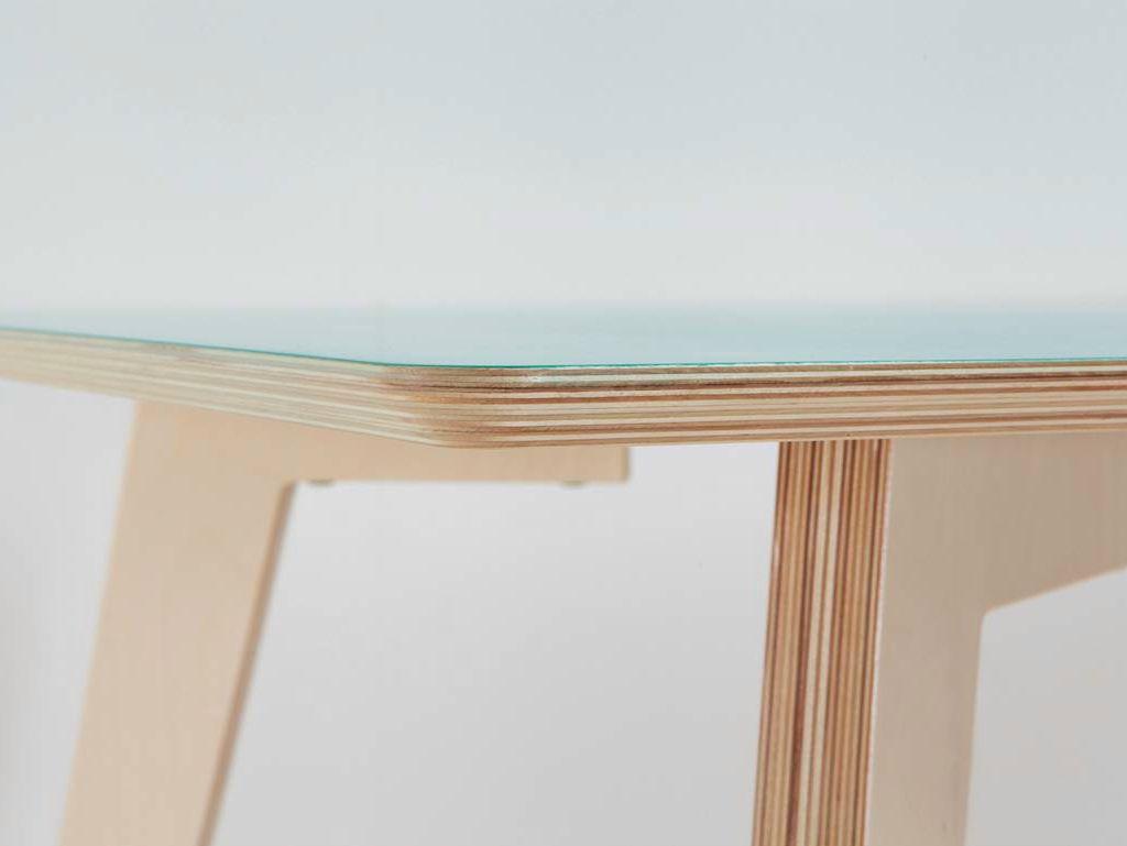 Mesa Rectangular De Contrachapado Línea Minmin By BRANKA BLASIUS BUREAU |  Diseño Branka Blasius. Plywood TableDesign ...