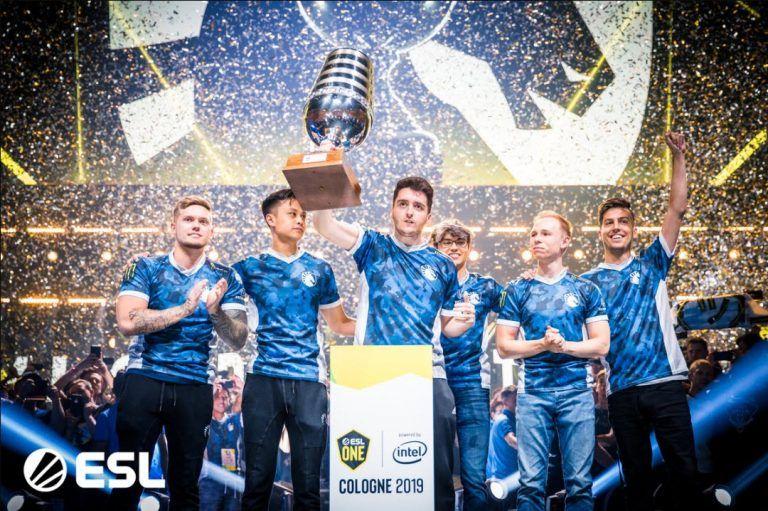 Team Liquid Wins Esl One Cologne 2019 And Intel Grand Slam Team Liquid Teams