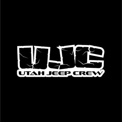 Utah jeep crew logo vinyl decal sticker 8