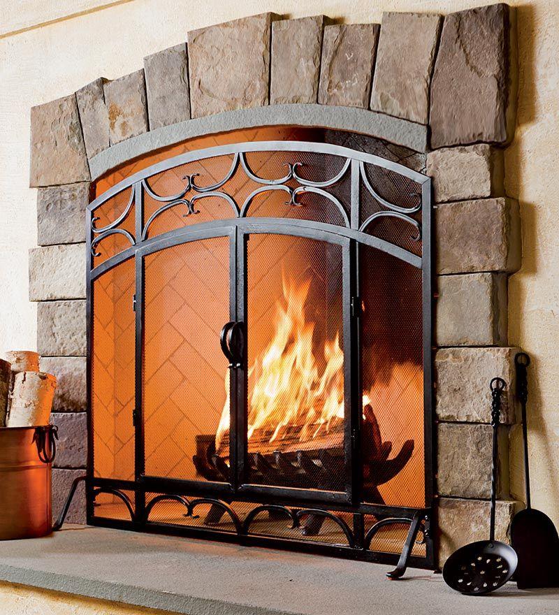 Cool Fireplace Screen Fireplace Screens Fireplace Shabby Chic