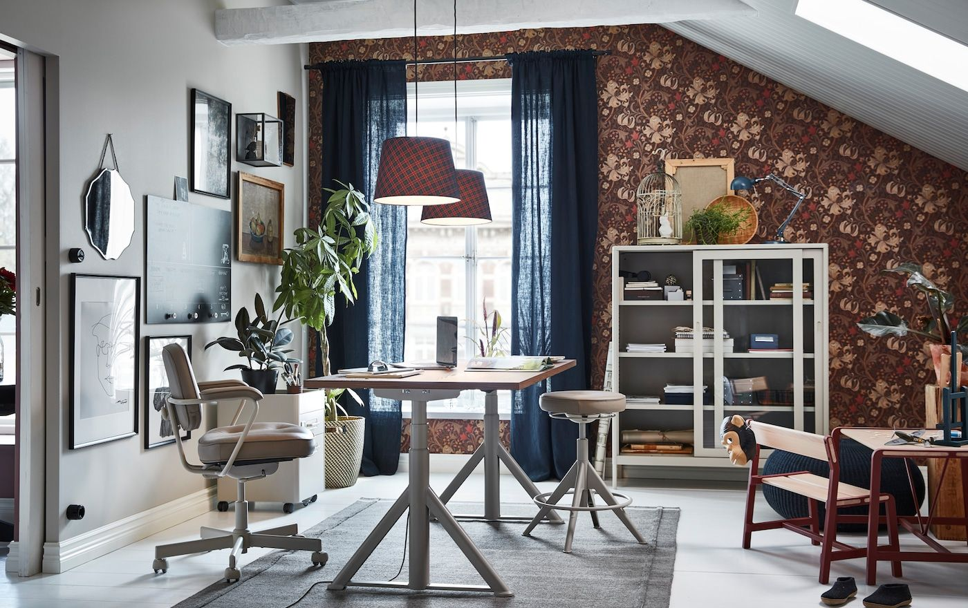 Office Inspiration In 2020 Dining Room Combo Living Dining Room Home Office #office #and #living #room #combo