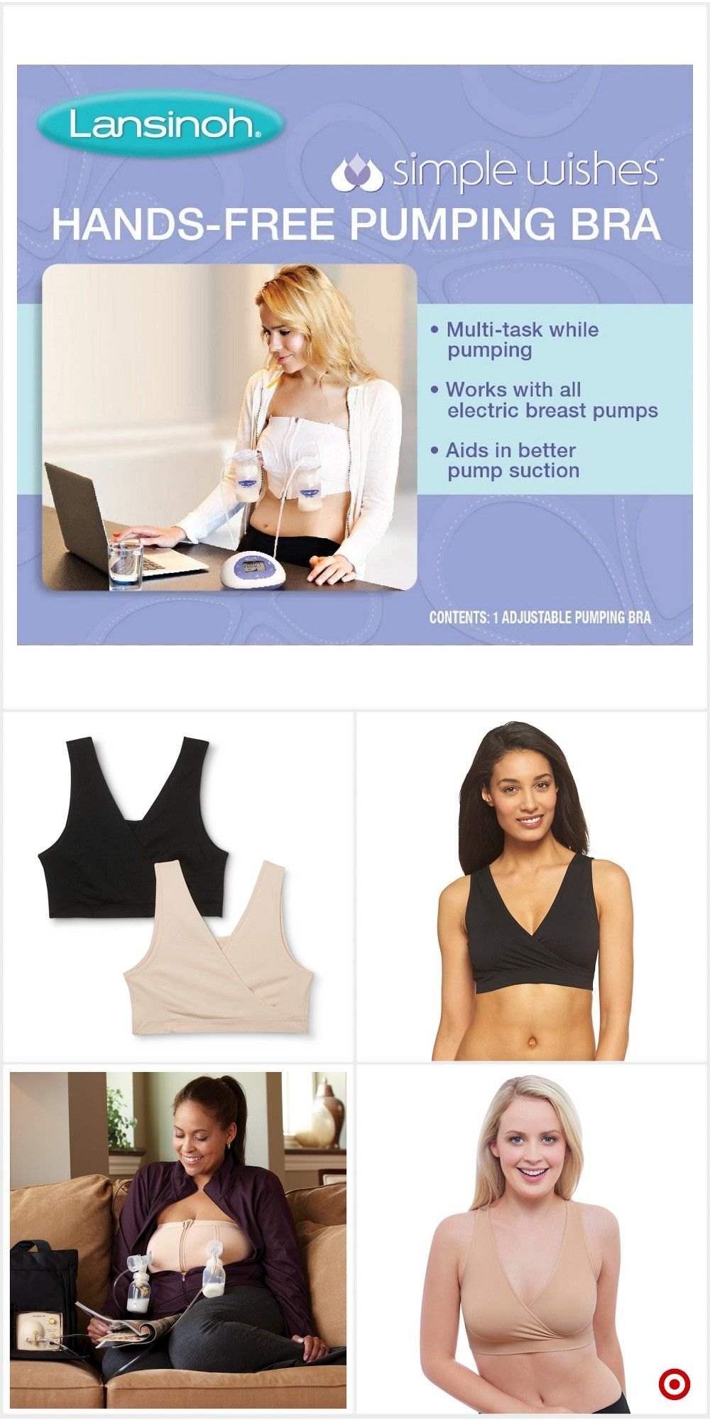 e587bd437027b Shop Target for nursing bras you will love at great low prices. Free  shipping on orders of $35+ or free same-day pick-up in store.
