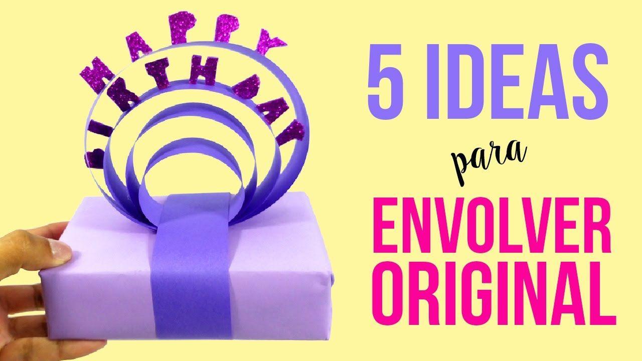 5 ideas para envolver regalos de manea original c mo - Envolver regalos original ...